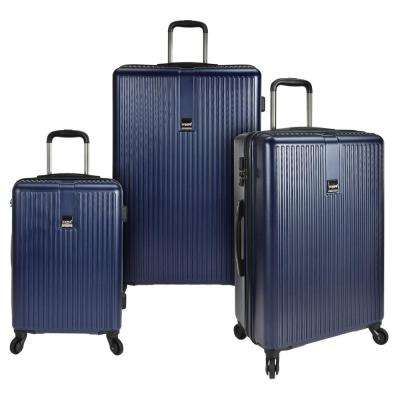 Sparta 3-Piece Hardside Spinner Set, Navy