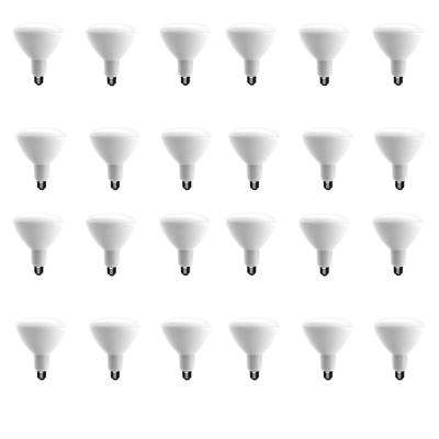 75-Watt Equivalent BR40 Dimmable CEC LED Light Bulb Daylight (24-Pack)