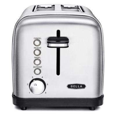 Classics 2-Slice Stainless Steel Toaster