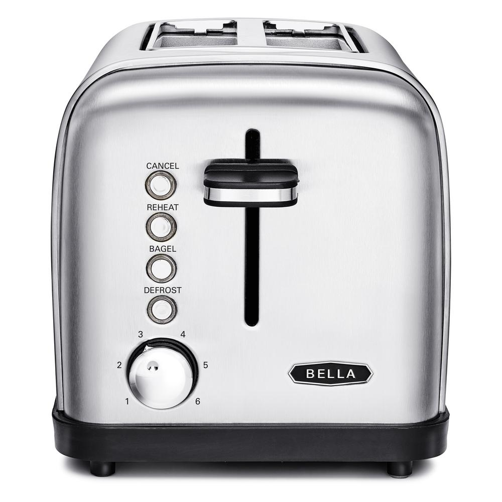 Top Loading Toaster ~ Bella classics slice stainless steel toaster bla