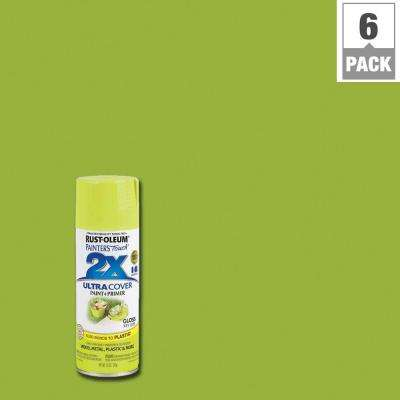 12 oz. Gloss Key Lime General Purpose Spray Paint (6-Pack)