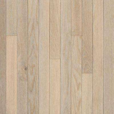 Take Home Sample - American Originals Sugar White Oak Engineered Click Lock Hardwood Flooring - 5 in. x 7 in.