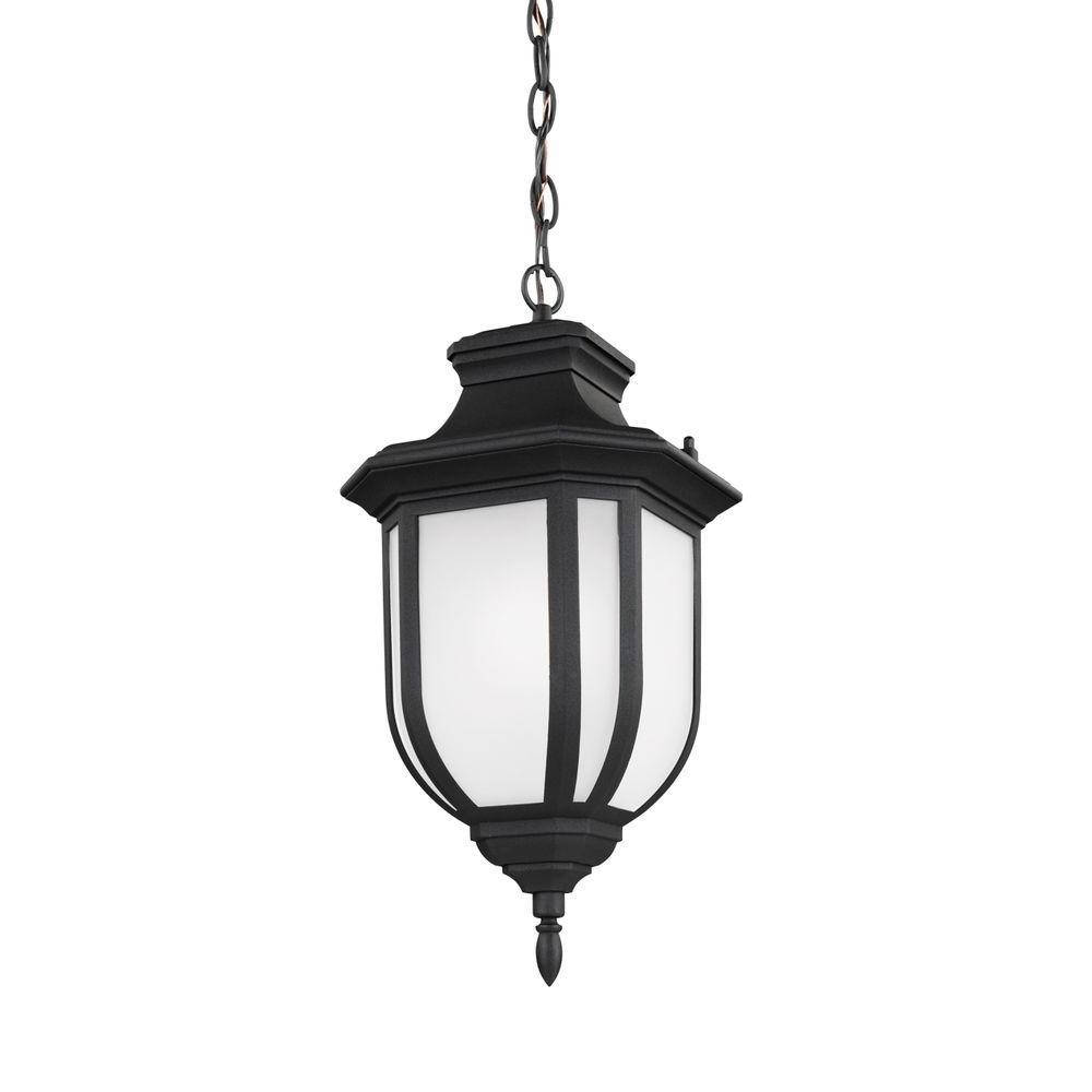 Childress 1-Light Black Pendant