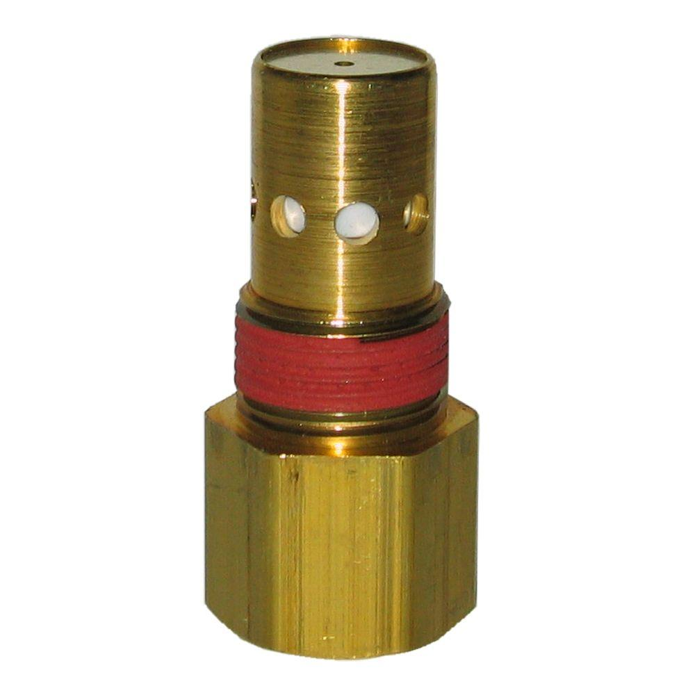Powermate 3/4 in. NPT O.D. x 3/4 in. NPT I.D. with 1/8 in. Bleeder Check Valve