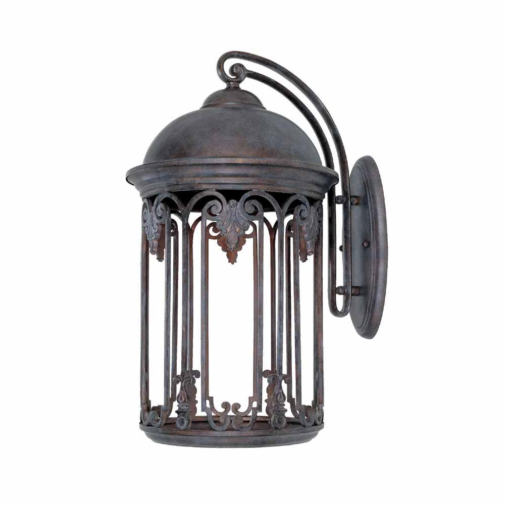 Feiss Lumiere Collection 2 Light Dark Weathered Oak Oil