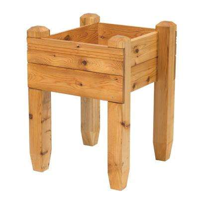 23 in. x 32 in. x 23 in. Cedar Table Planter