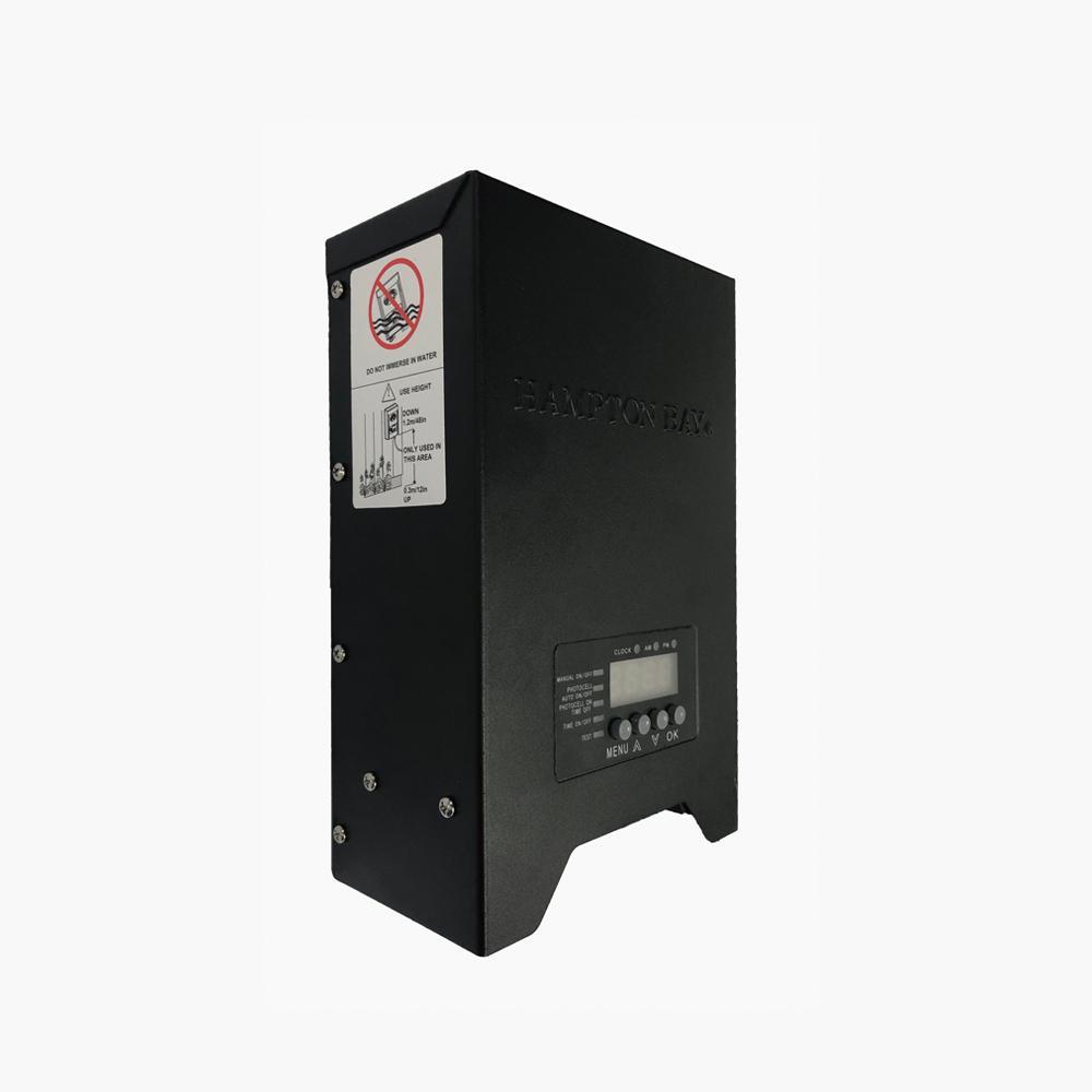 Hampton Bay Low Voltage 300 Watt Landscape Transformer Diy 300ps The Home Depot