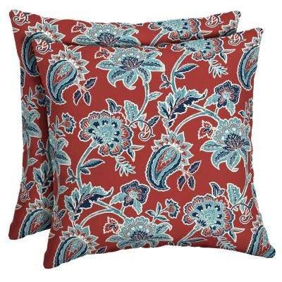 16 x 16 Caspian Square Outdoor Throw Pillow (2-Pack)