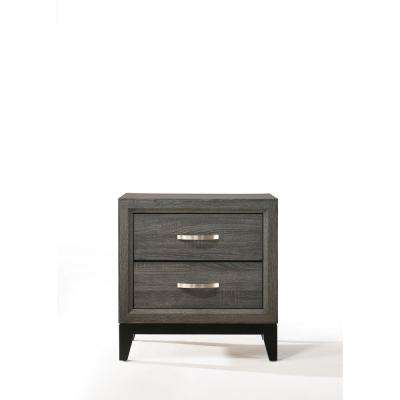 Valdemar Weathered Gray Nightstand