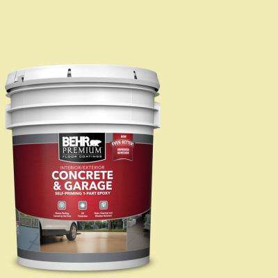 5 gal. #P340-2 Invigorating Self-Priming 1-Part Epoxy Satin Interior/Exterior Concrete and Garage Floor Paint