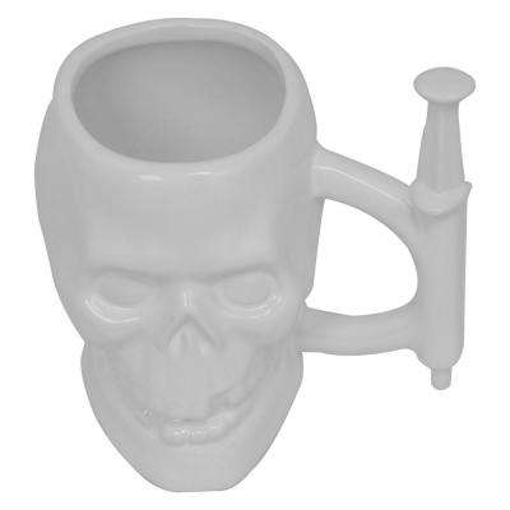 11 oz. Skull Syringe Mug