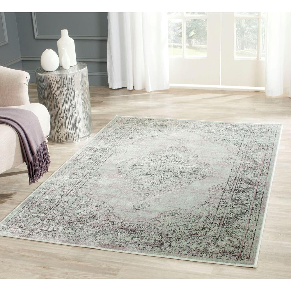 Vintage Gray 8 ft. x 11 ft. 2 in. Area Rug