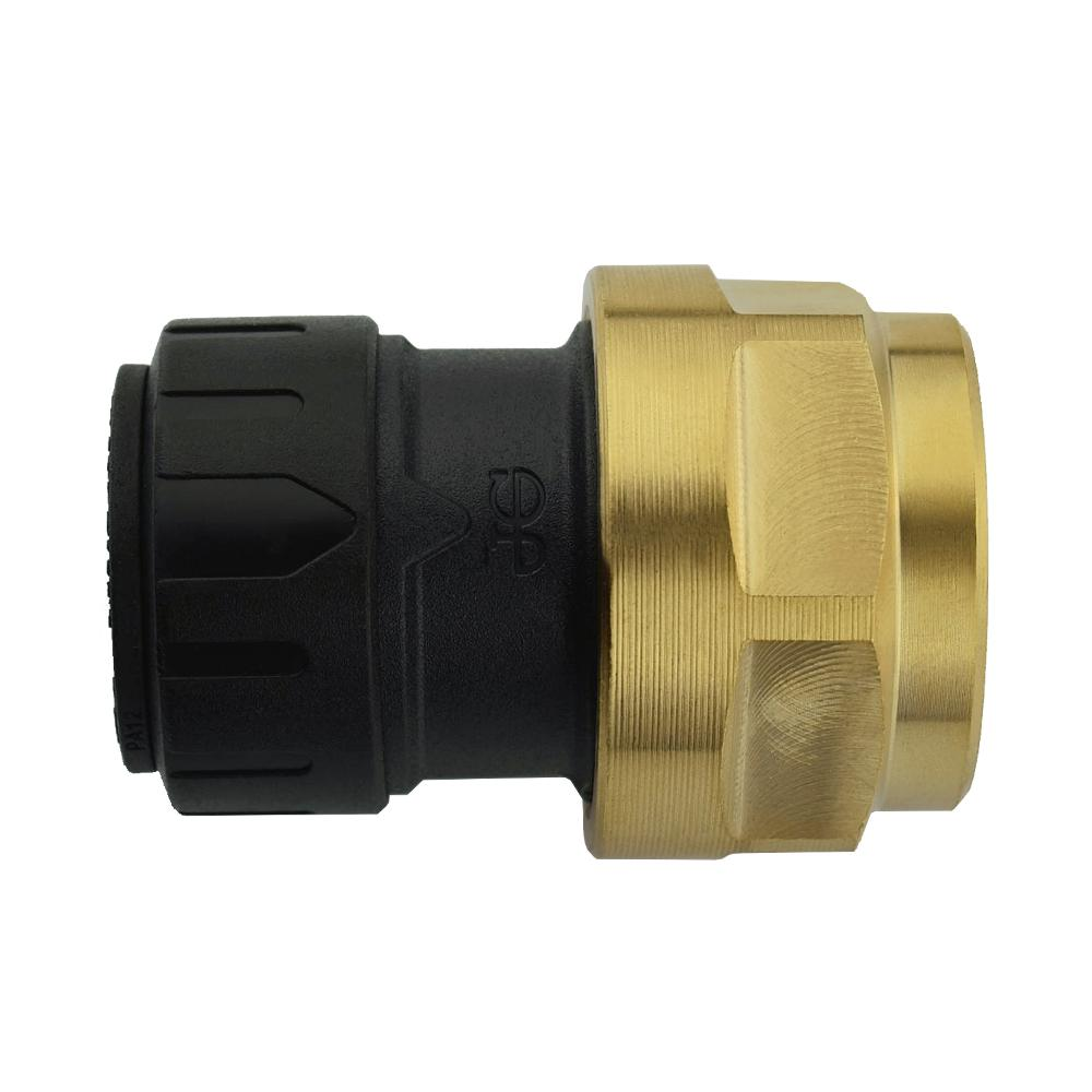 1/2 in. CTS x 3/4 in. NPS Brass ProLock Push-to-Connect Female