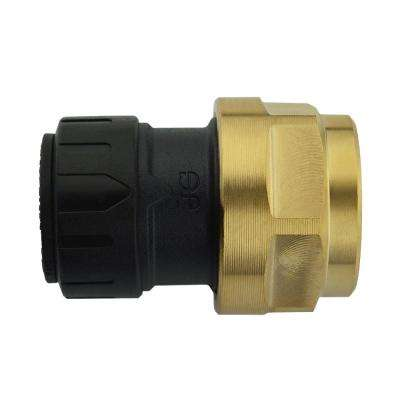 1/2 in. CTS x 3/4 in. NPS Brass ProLock Push-to-Connect Female Connector (5-Pack)