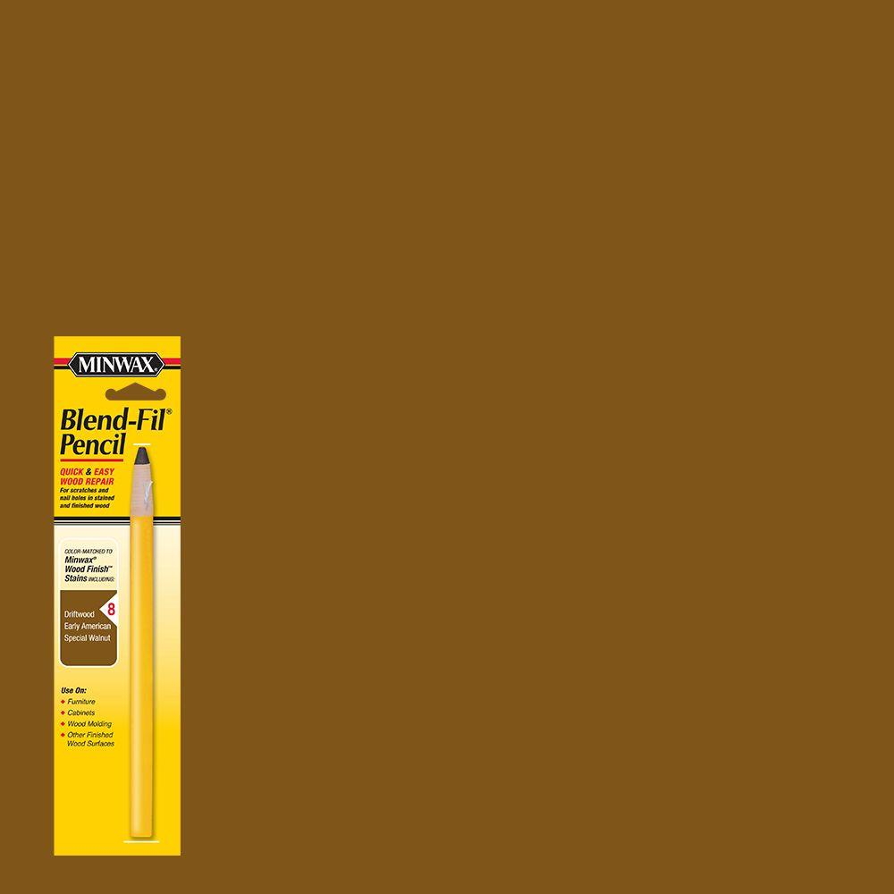 #8 Blend-Fil Pencil for Dark Brown Stained Wood