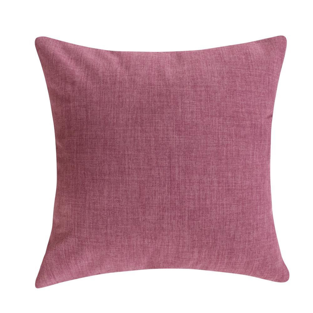 Violet Outdoor Decorative Pillow