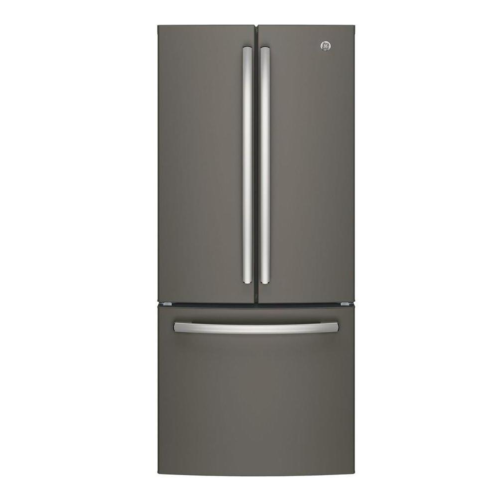 ge 30 in w 20 8 cu ft french door refrigerator in slate On 8 foot french doors home depot