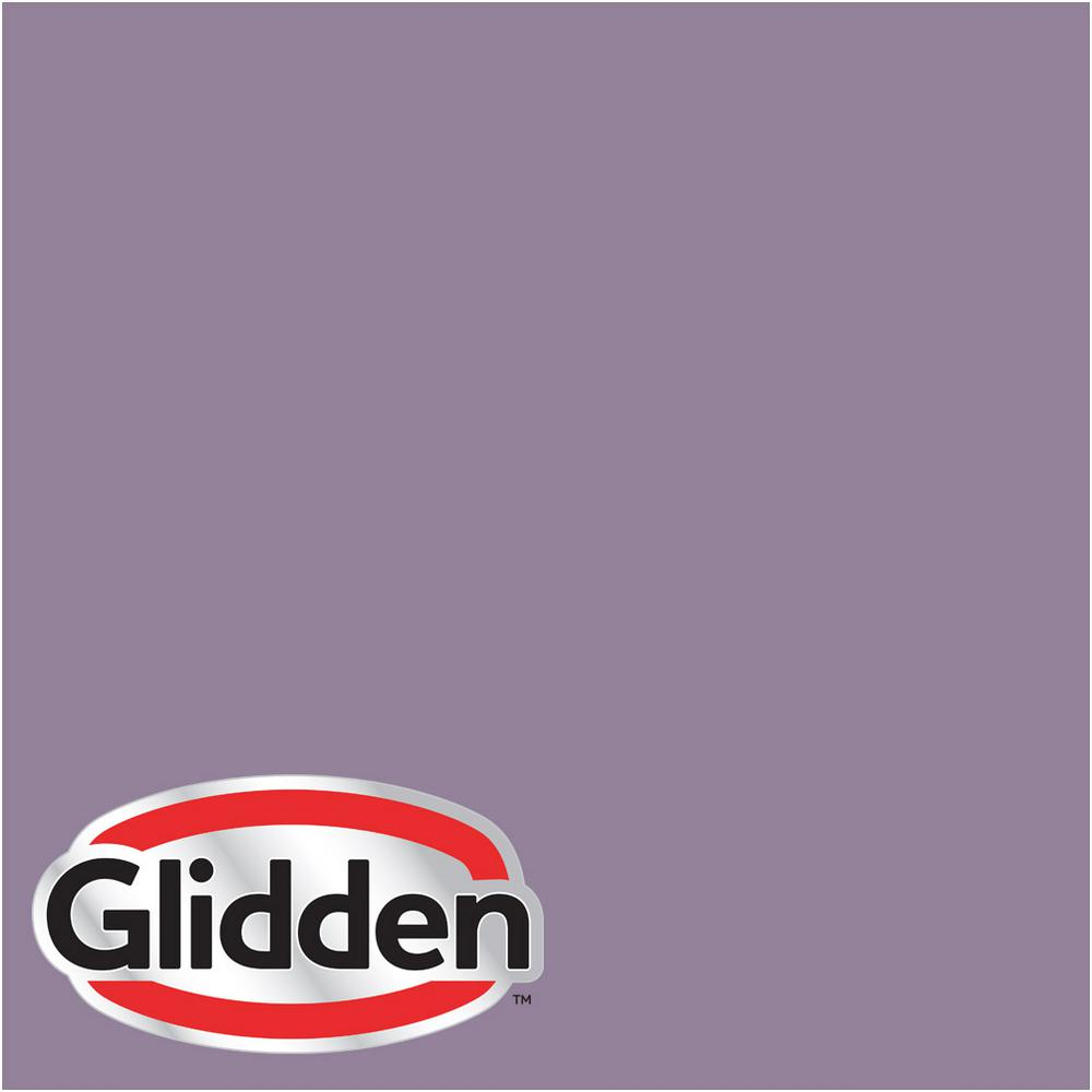 Reviews For Glidden Premium 5 Gal Hdgv59d Purple Foxglove Flower Satin Interior Paint With Primer Hdgv59dp 05san The Home Depot