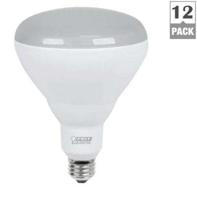 65W Equivalent Soft White (2700K) BR40 Dimmable LED Light Bulb Maintenance Pack (12-Pack)