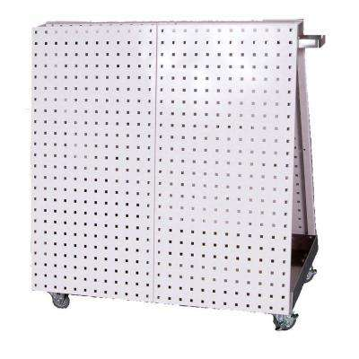 36 in. Utility Cart White