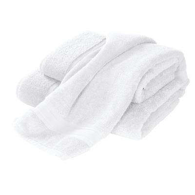 Company Cotton White Solid Turkish Cotton Fingertip Towel (Set of 2)