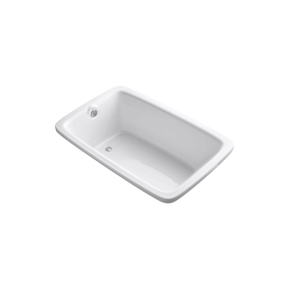 KOHLER Bancroft 5.5 ft. Reversible Drain Bathtub in White