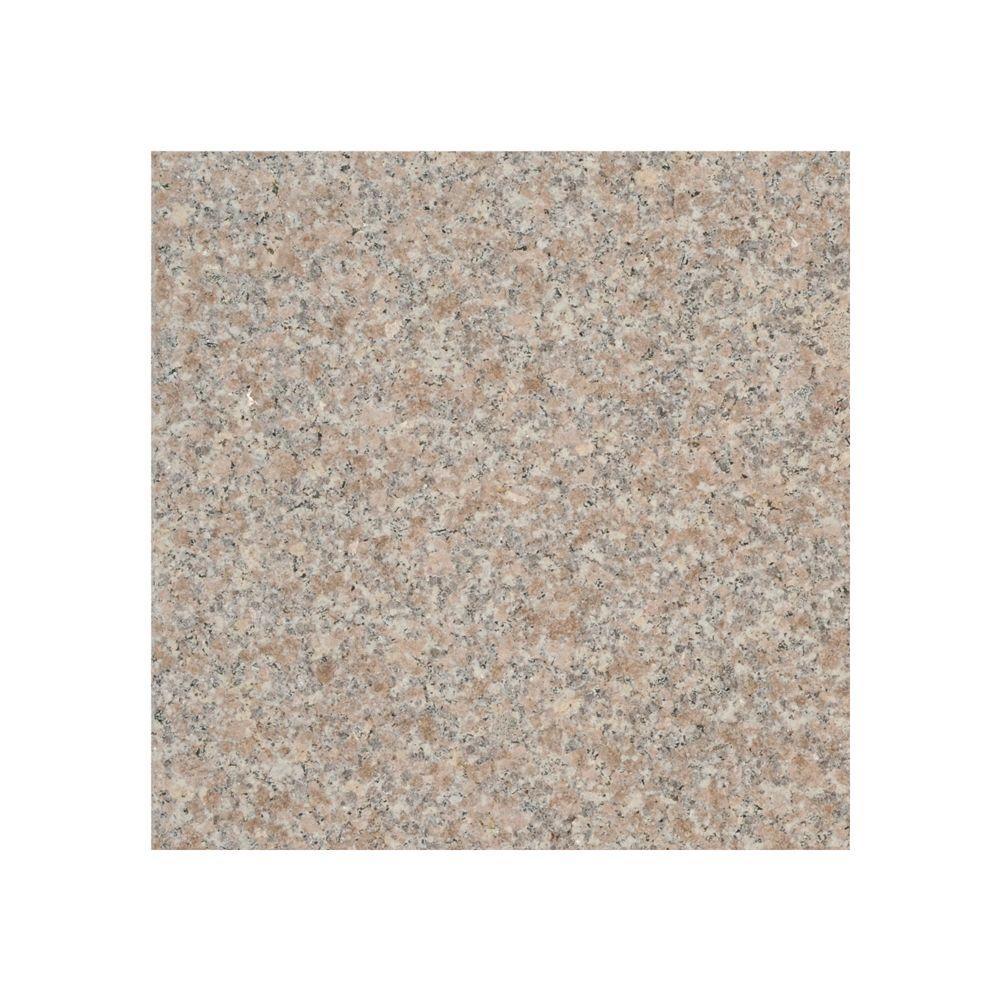 DeckoRail 16 in. x 16 in. Riverstone Granite Deck Stone