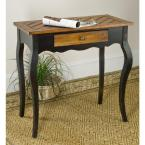 Cooper Oak and Java Storage Console Table