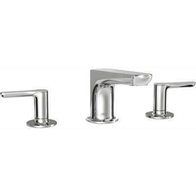 Studio S 2-Handle Deck-Mount Roman Tub Faucet for Flash Rough-in Valves in Polished Chrome