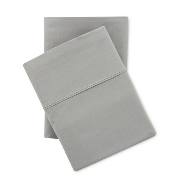 Nouvelle Home Solid Brushed 100% Cotton High Rise Queen Sheet Set
