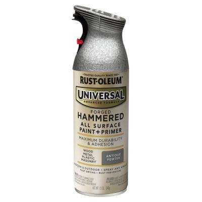 11 oz. All Surface Hammered Antique Pewter Spray Paint and primer in One (6-Pack)