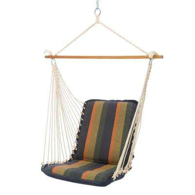 Single Sunbrella Cushioned Hammock Swing in Gateway Aspen