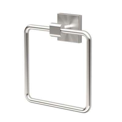 Elevate Towel Ring in Satin Nickel