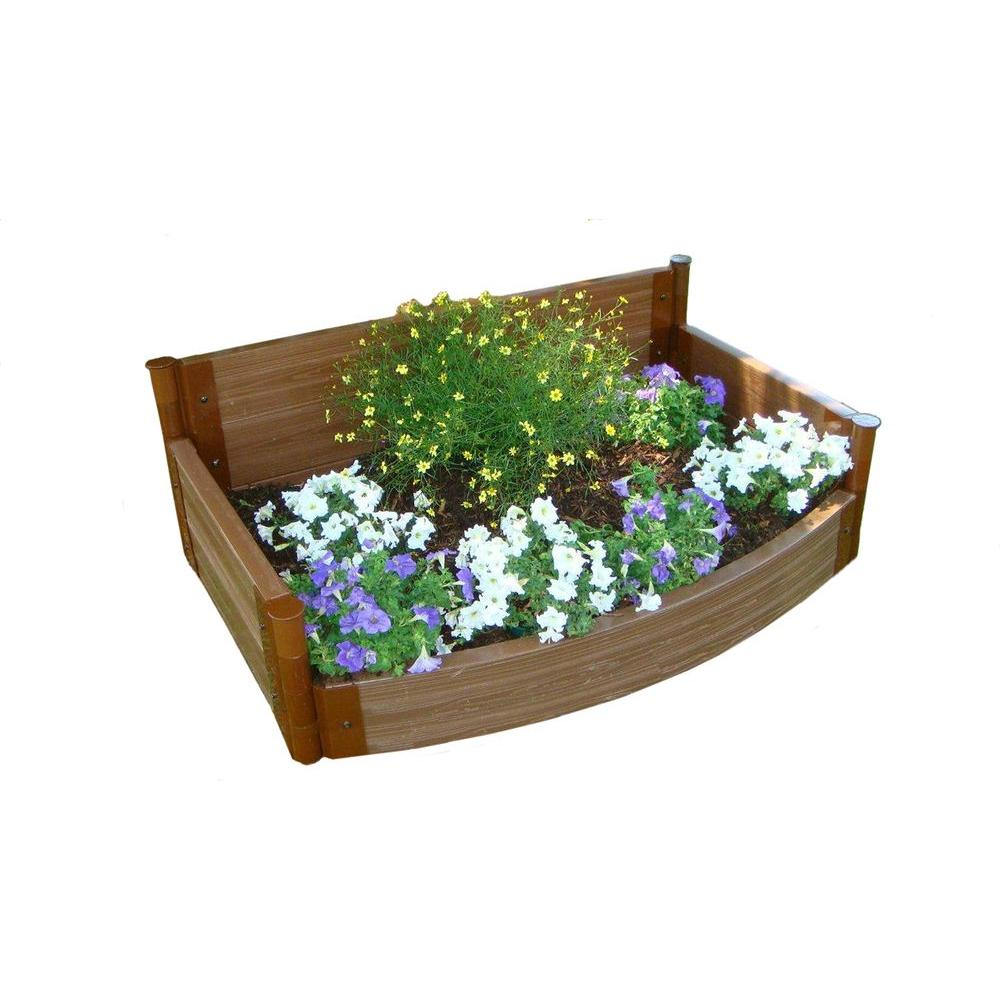 Frame It All Curved Front Raised Garden Bed-DISCONTINUED