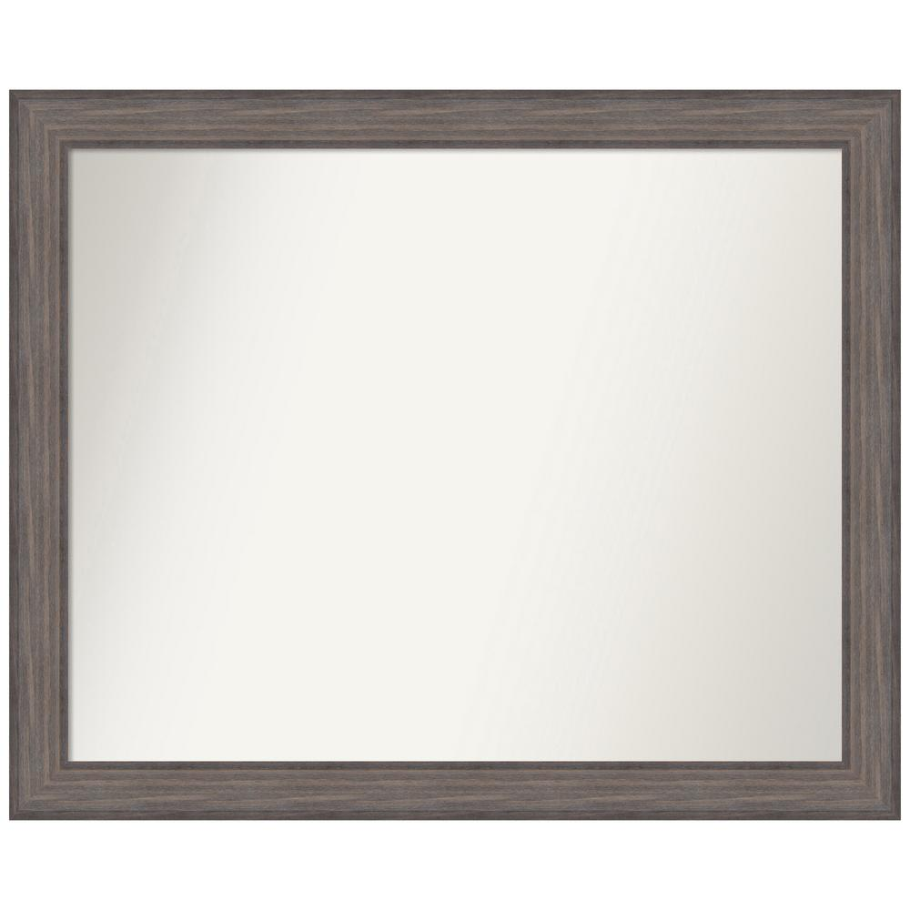 Amanti Art Choose Your Custom Size 44.25 in. x 36.25 in. Country Barnwood Decorative Wall Mirror was $579.95 now $284.75 (51.0% off)