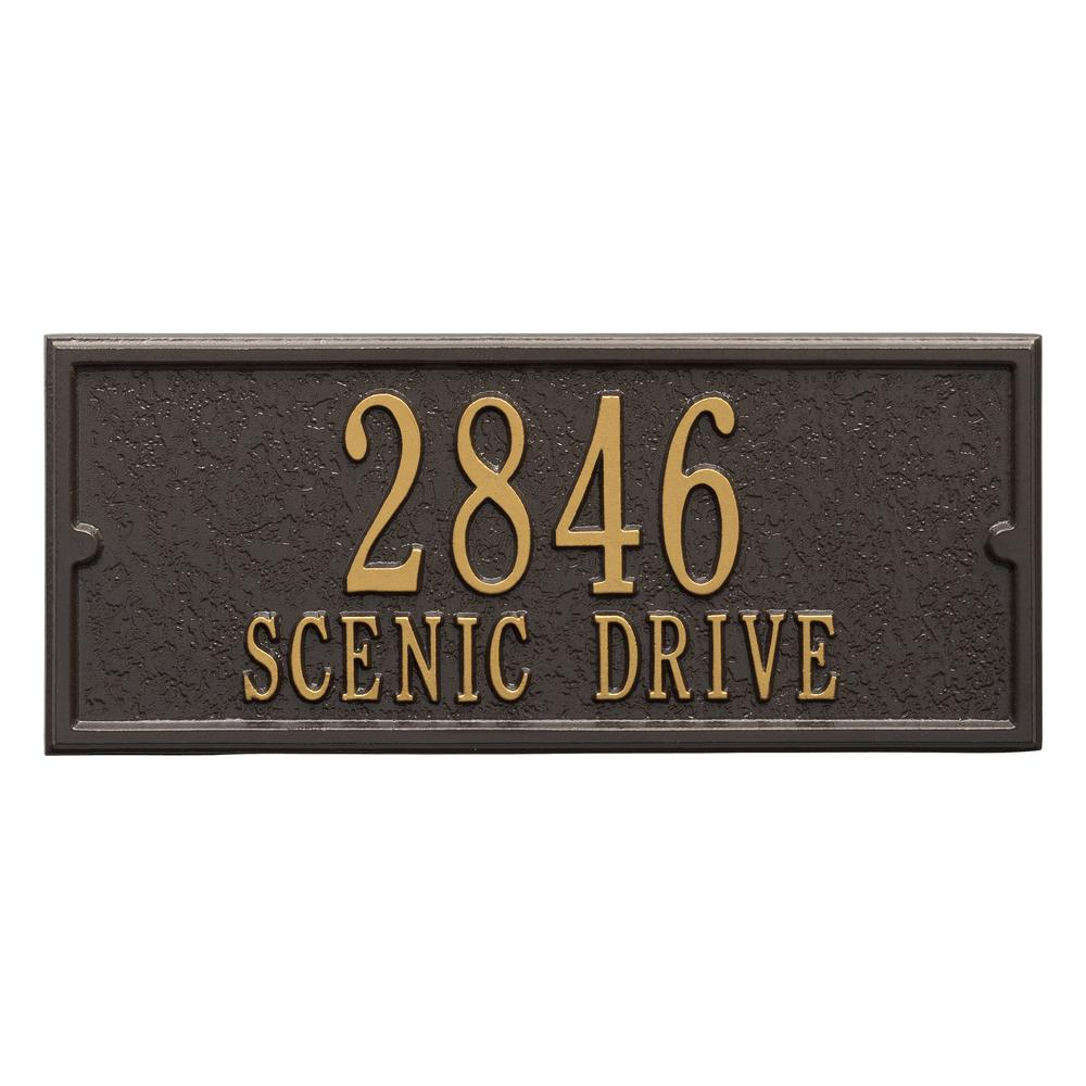Whitehall Products Mailbox Side Panel in Bronze/Gold  sc 1 st  The Home Depot & Whitehall Products Mailbox Side Panel in Bronze/Gold-1425OG - The ...