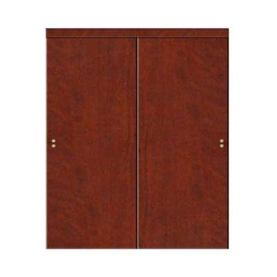 Good Smooth Flush Solid Core Primed MDF Interior Sliding Door With Trim