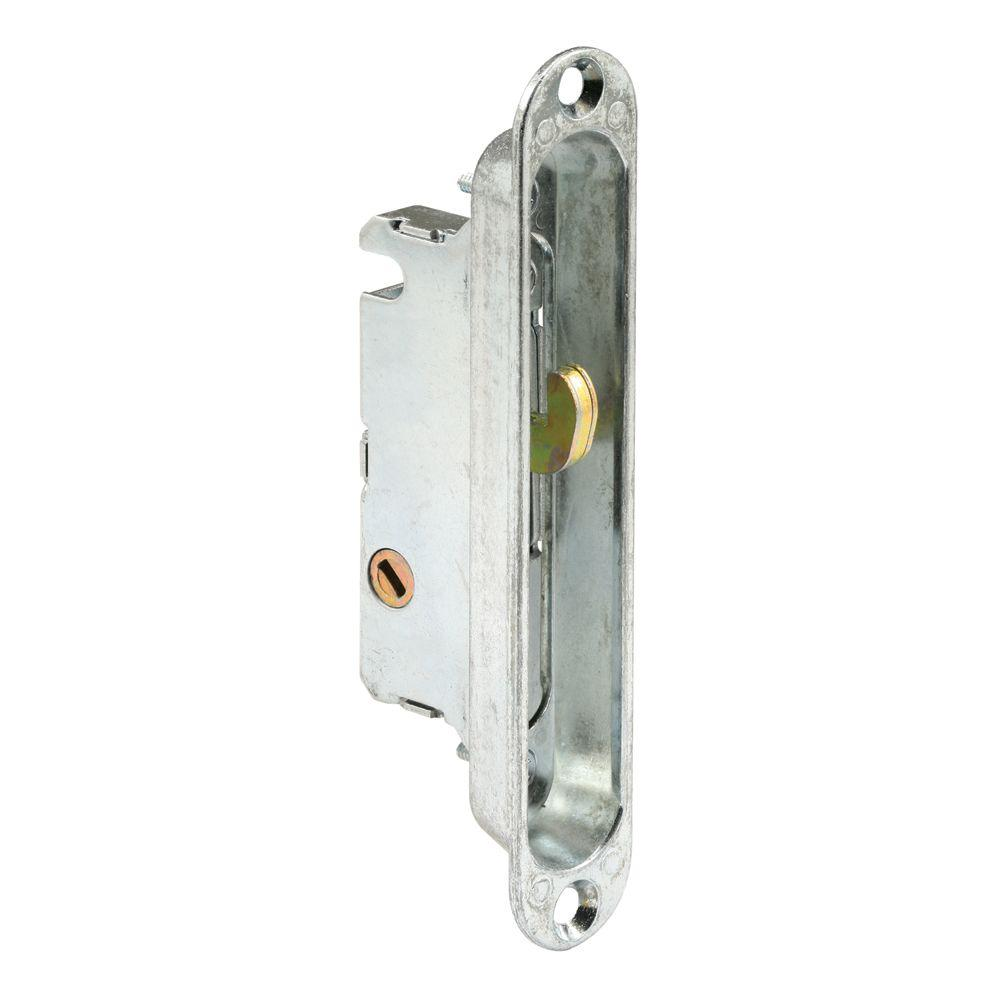 Prime Line Sliding Door Mortise Latch, With Adaptor Plate