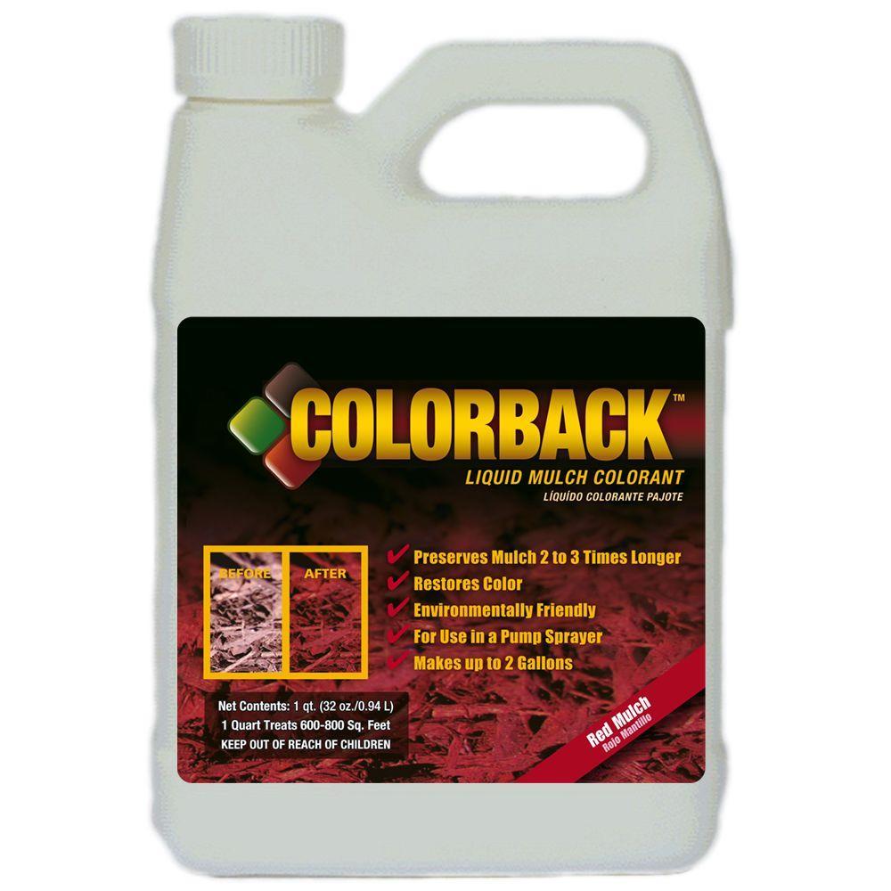 COLORBACK 32 oz. Red Mulch Color Solution