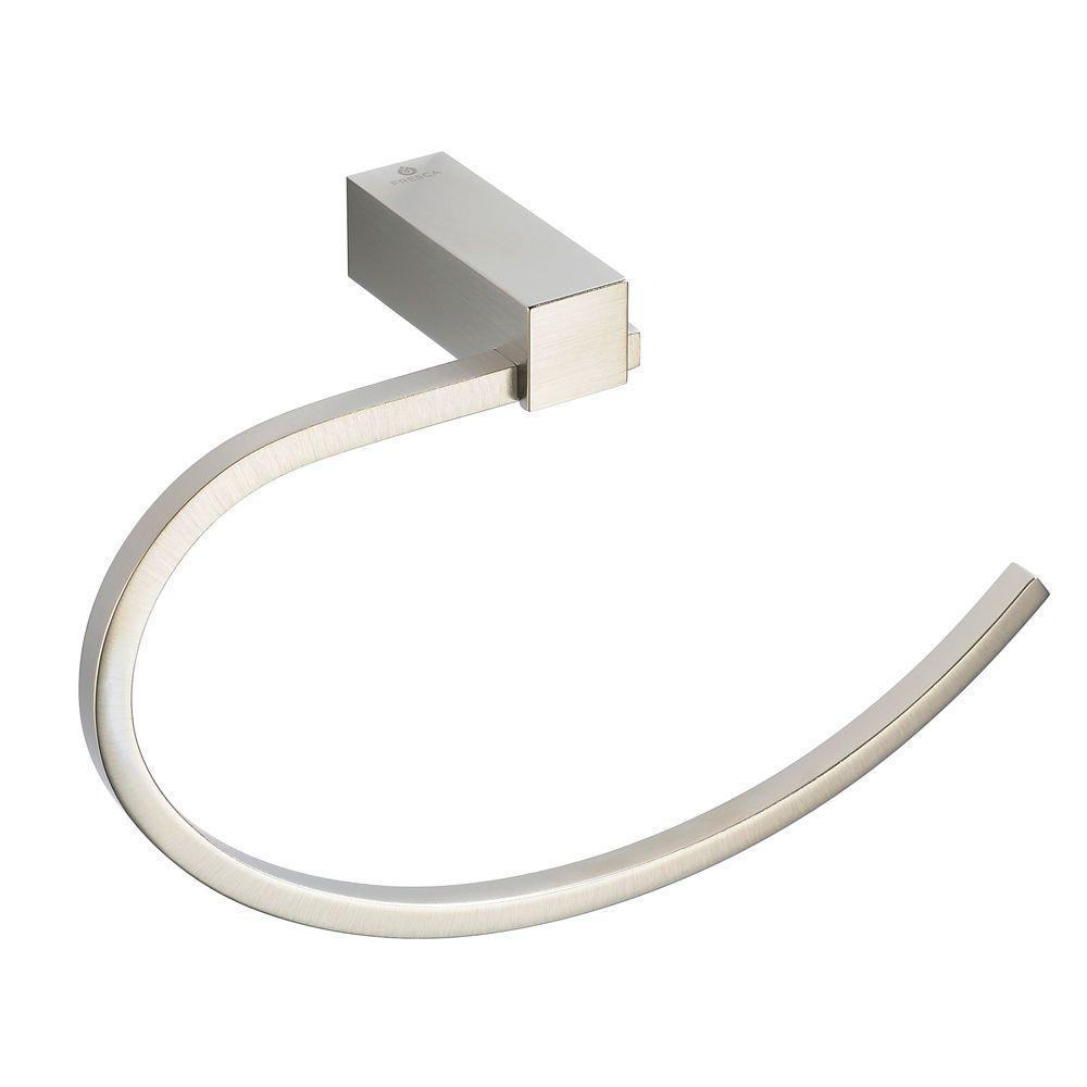 Ottimo Towel Ring in Brushed Nickel