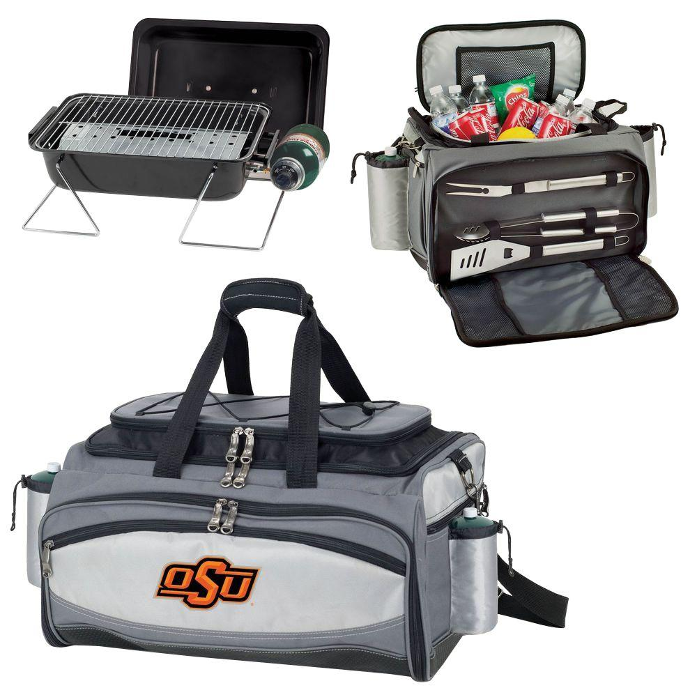 Oklahoma State Cowboys - Vulcan Portable Propane Grill and Cooler Tote