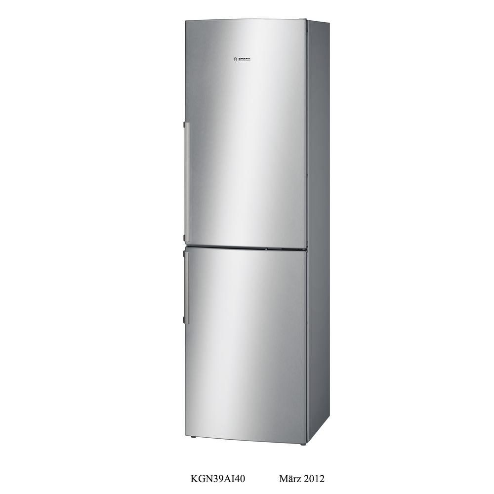 Bosch 500 Series 24 in. 11 cu. ft. Bottom Freezer Refrigerator in Stainless Steel, Counter Depth