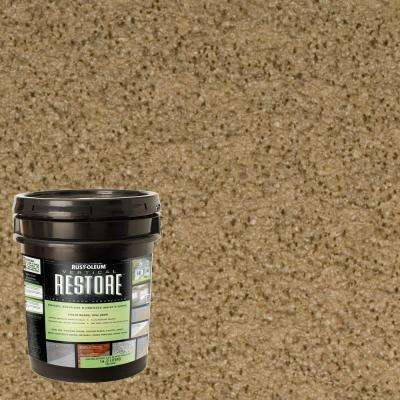 4 gal. River Rock Vertical Liquid Armor Resurfacer for Walls and Siding