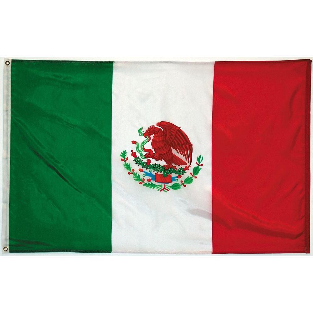 3 ft. x 5 ft. Mexico Flag