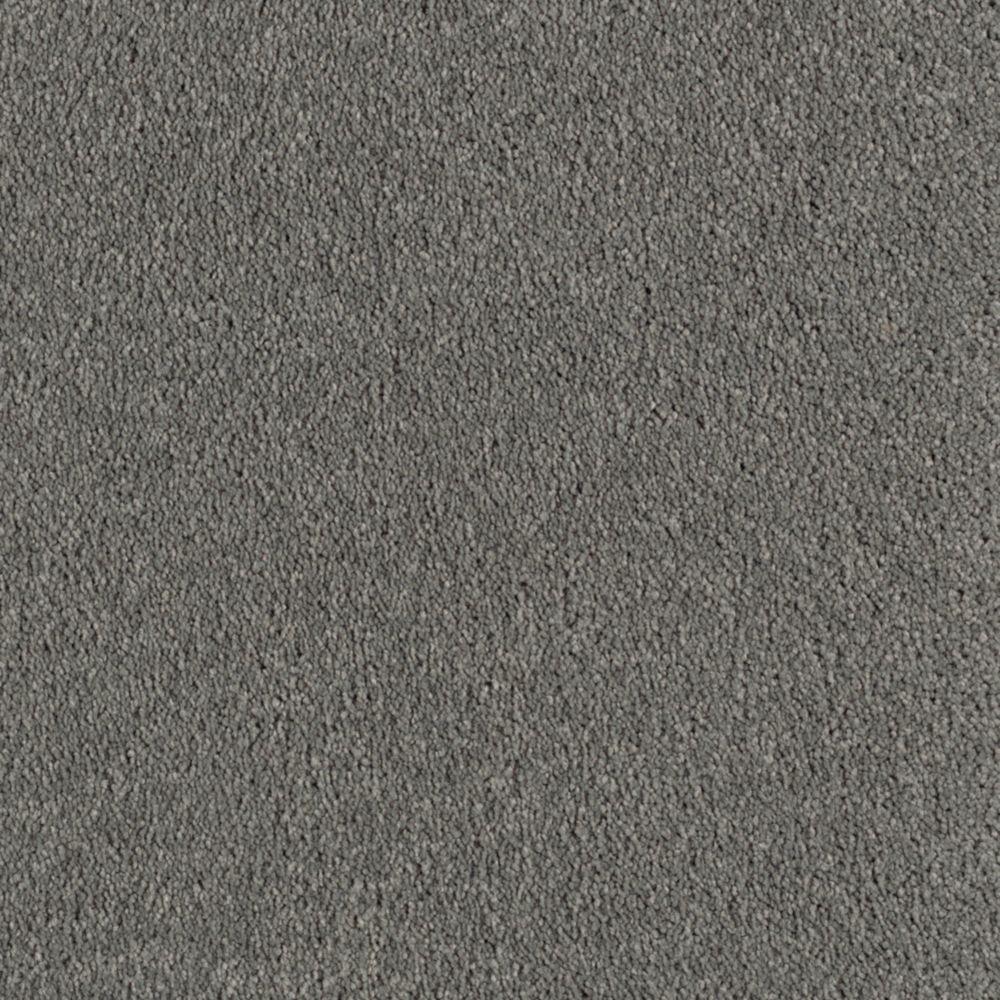 Velocity II - Color Fedora Grey Texture 12 ft. Carpet