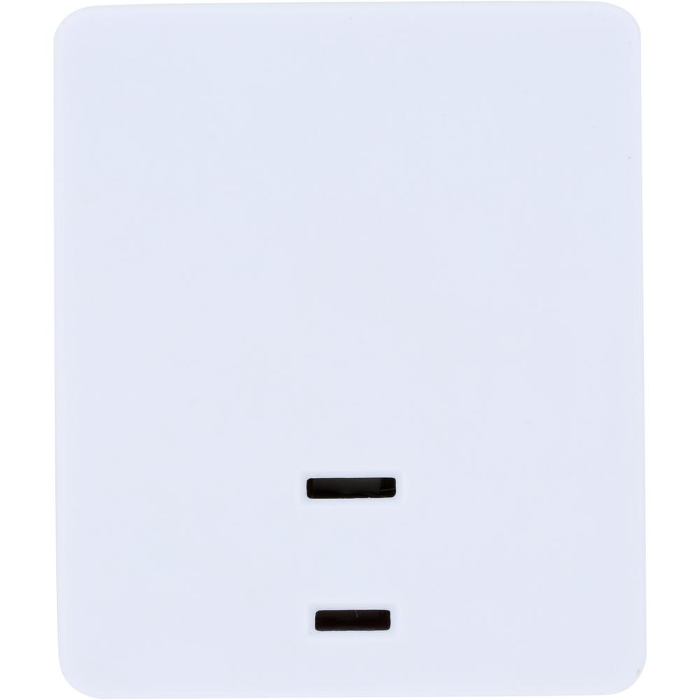 reputable site 3c5e6 4a28b Westek 200-Watt White Touch Lamp On/Off Plug-In Control