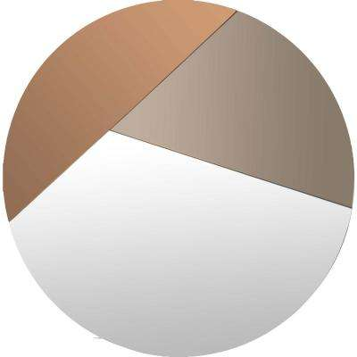 Novello 26 in. x 26 in. Unframed Wall Mirror