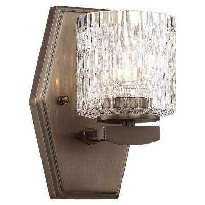 Maginot LED Harvard Court Bronze Integrated LED Bath Light