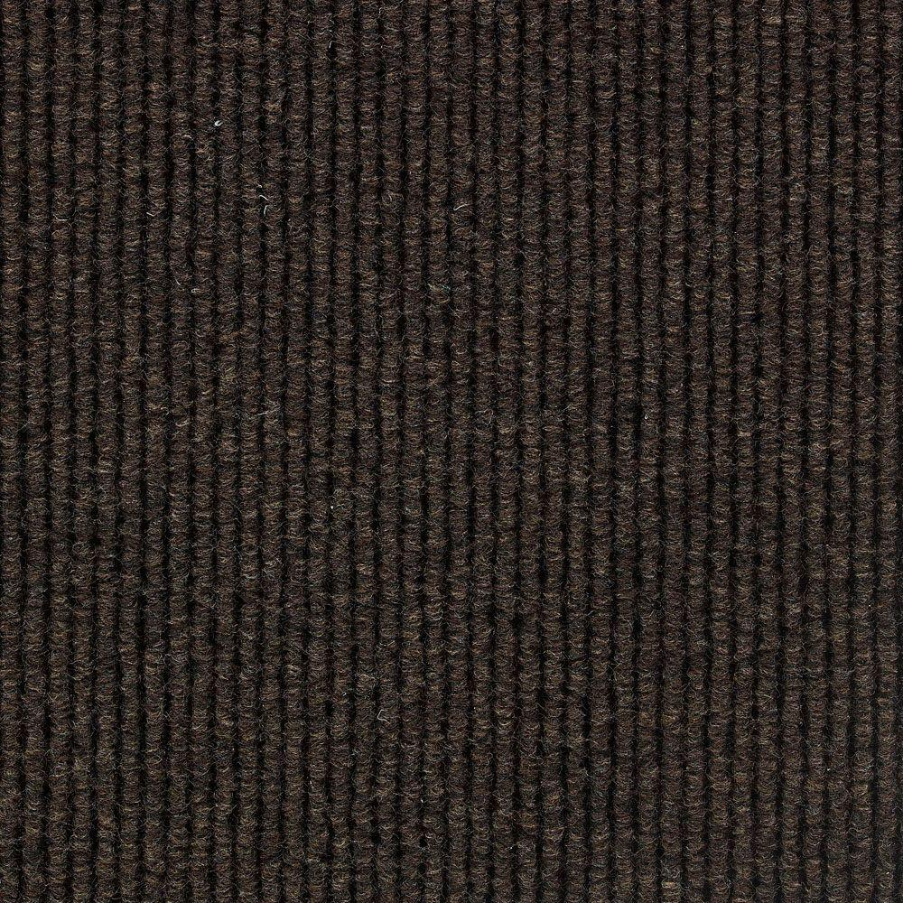 Shaw Living Berber Chocolate 12 in. x 12 in. Carpet Tiles (20 tiles)-DISCONTINUED