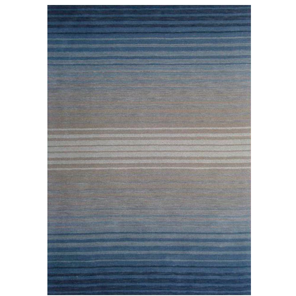 Artistic Weavers Mantra Blue 8 ft. x 11 ft. Area Rug